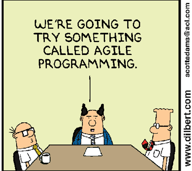 Agile is not a project management framework